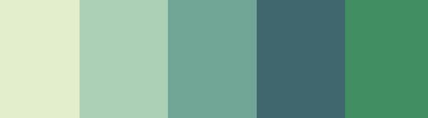 Green palet